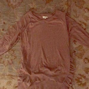 Umgee Ruffles High Love Sweater